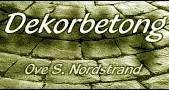 Dekorbetong - Ove S Nordstrand